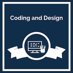 Coding and Design logo