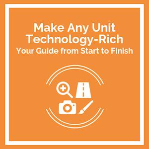 Make any unit Technology-Rich course logo