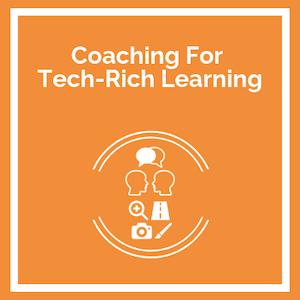 Coaching for tech-rich learning Course logo
